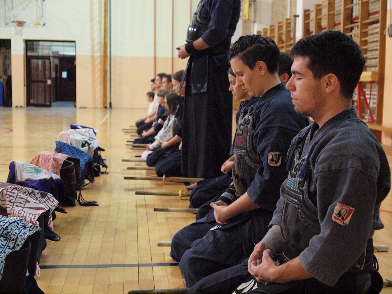Kendo trening Isshin